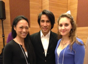 Charmaine and Sydney meet Ideal Protein founder, Dr. Chanh Tran Tien
